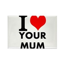 I heart your mum Rectangle Magnet (100 pack)