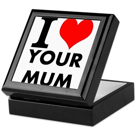 I heart your mum Keepsake Box