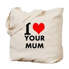 I heart your mum Tote Bag