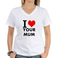 I heart your mum Shirt