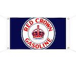 Red Crown Gasoline Banner
