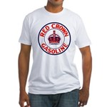 Red Crown Gasoline Fitted T-Shirt
