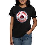Red Crown Gasoline Women's Dark T-Shirt