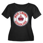 Red Crown Gasoline Women's Plus Size Scoop Neck Da