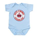 Red Crown Gasoline Infant Bodysuit