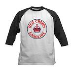 Red Crown Gasoline Kids Baseball Jersey
