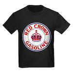 Red Crown Gasoline Kids Dark T-Shirt