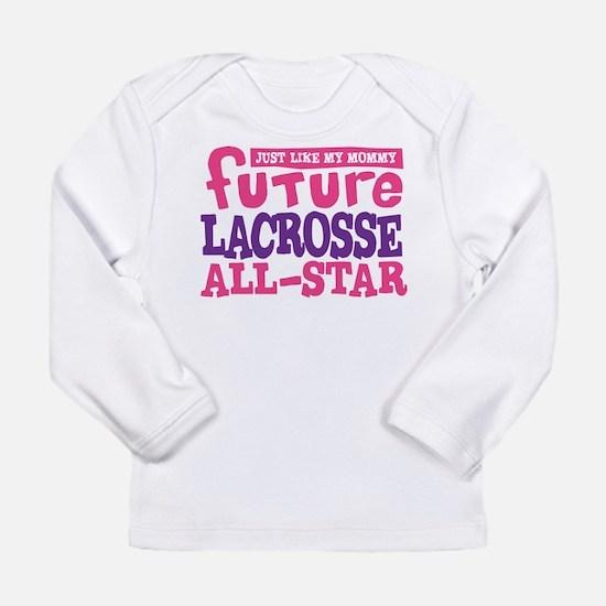 Lacrosse Future All Star Girl Long Sleeve Infant T