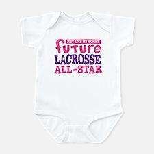 Lacrosse Future All Star Girl Infant Bodysuit