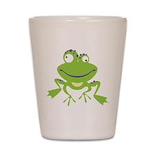 Funny Frog Shot Glass