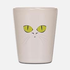 Cat's Face Shot Glass