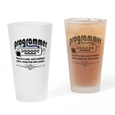Programmer Pint Glass