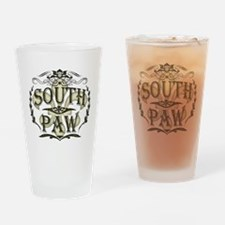 Southpaw Fleur De Lis Drinking Glass