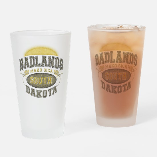 Badlands Pint Glass