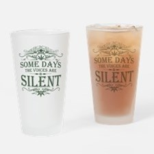 Voices Are Silent Pint Glass