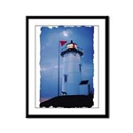 Nobska Point Lighthouse Framed Panel Print