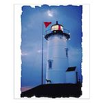 Nobska Point Lighthouse Small Poster