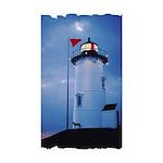 Nobska Point Lighthouse Sticker (Rectangle 10 pk)