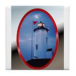 Nobska Point Lighthouse Tile Coaster