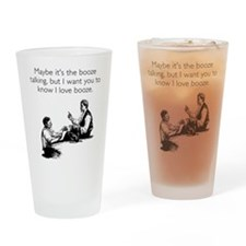 Love Booze Pint Glass