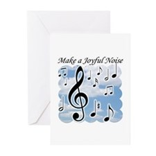 Cute Music notes Greeting Cards (Pk of 20)