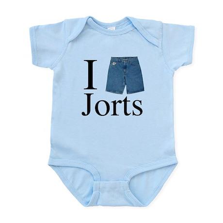 I Heart Jorts Infant Bodysuit