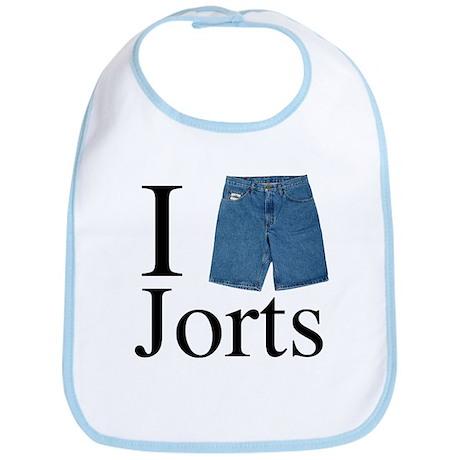 I Heart Jorts Bib