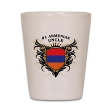 Number One Armenian Uncle Shot Glass