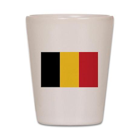 Flag of Belgium Shot Glass