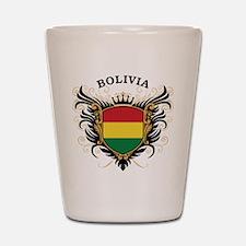 Bolivia Shot Glass