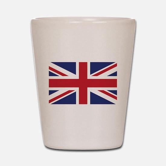 Flag of the United Kingdom Shot Glass