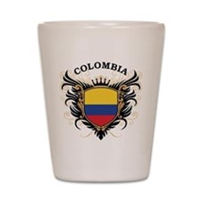 Colombia Shot Glass
