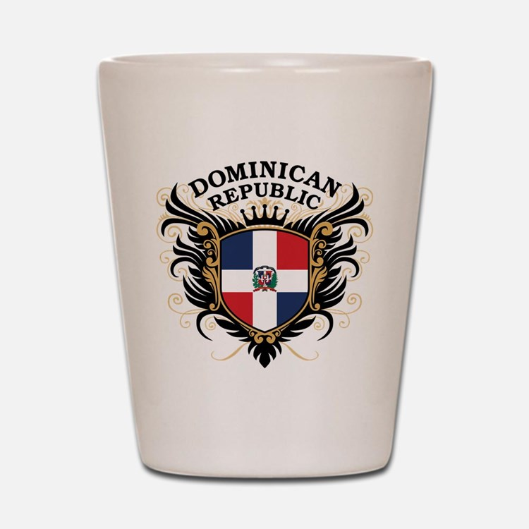 Dominican Republic Shot Glass