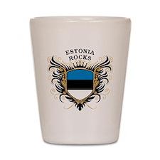 Estonia Rocks Shot Glass