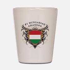 Number One Hungarian Grandpa Shot Glass