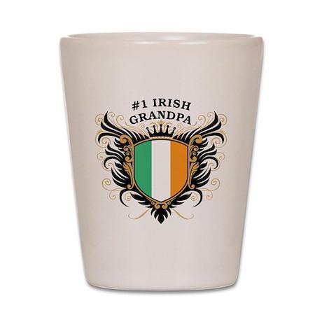 Number One Irish Grandpa Shot Glass