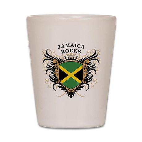 Jamaica Rocks Shot Glass