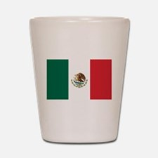 Flag of Mexico Shot Glass