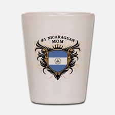 Number One Nicaraguan Mom Shot Glass