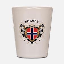 Norway Shot Glass