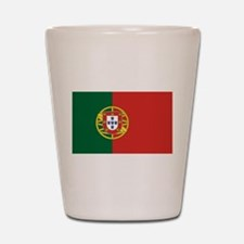 Flag of Portugal Shot Glass