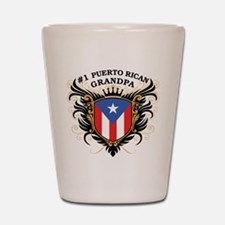 Number One Puerto Rican Grand Shot Glass