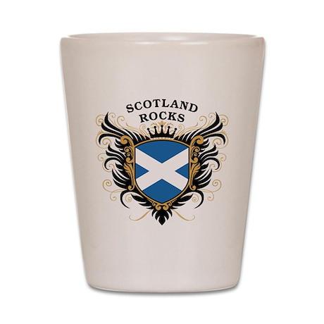 Scotland Rocks Shot Glass