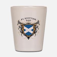 Number One Scottish Dad Shot Glass
