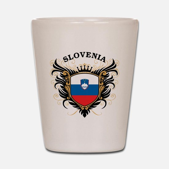Slovenia Shot Glass