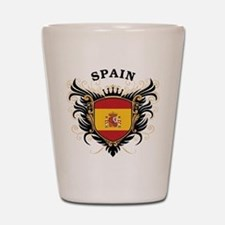 Spain Shot Glass