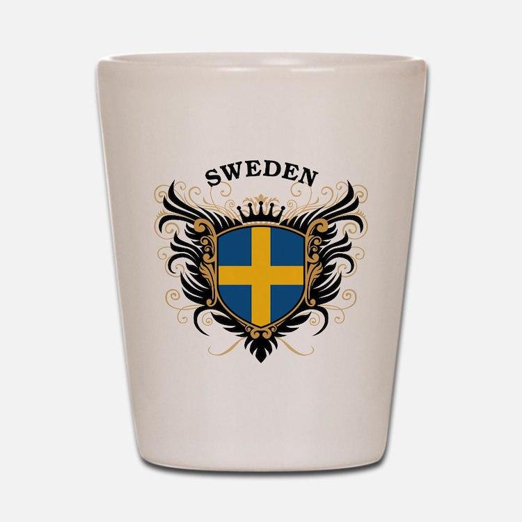 Sweden Shot Glass