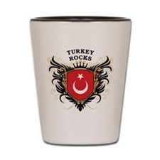 Turkey Rocks Shot Glass