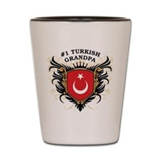 Number One Turkish Grandpa Shot Glass