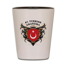 Number One Turkish Grandma Shot Glass